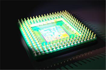 batu kristal mikroprosesor