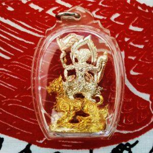 sri hanuman riding singha